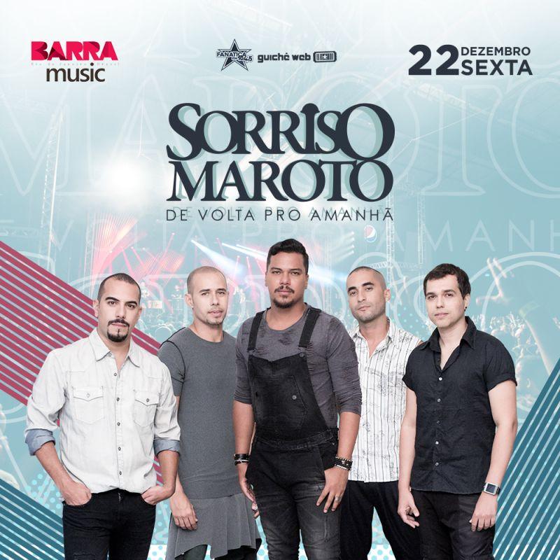 Sorriso Maroto - sexta - 22/12 - Espaço Hall - Shows - Rio